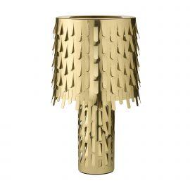 Jackfruit Table Lamp - Polished Brass