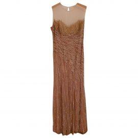 Jenny Packham N Gold Dress for Women