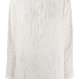 Jil Sander crinkle shorts pyjama set - White