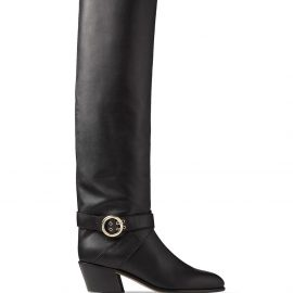 Jimmy Choo Beca over-the-knee boots - Black