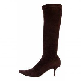 Jimmy Choo Brelan patent leather riding boots