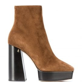 Jimmy Choo Bryn 125mm ankle boots - Brown