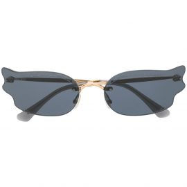 Jimmy Choo Eyewear Ember cat-eye sunglasses - Black