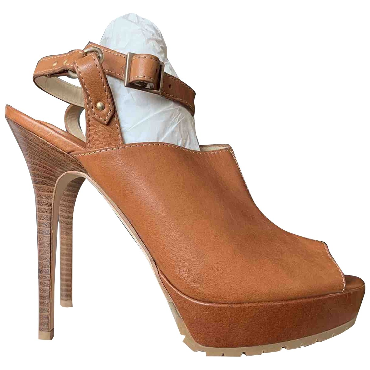 Jimmy Choo N Camel Leather Ankle boots for Women