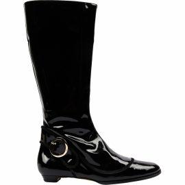 Jimmy Choo Patent leather biker boots