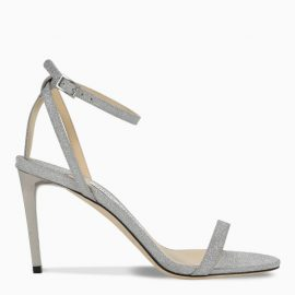 Jimmy Choo Silver Minny 85 sandals