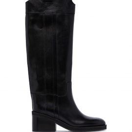 Jimmy Choo Tonya 70mm knee-high boots - Black
