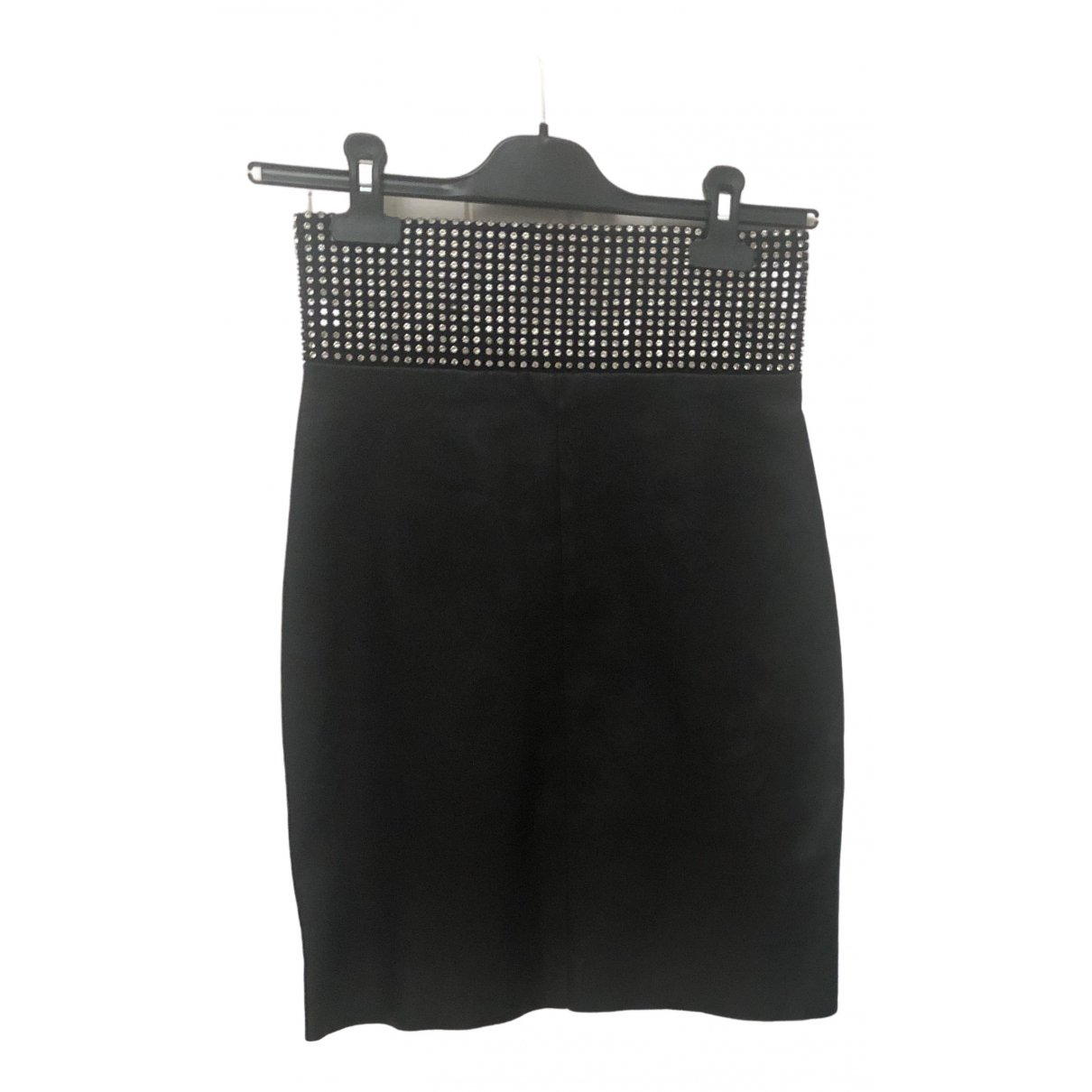 Jitrois N Black Leather Skirt for Women