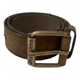 John Galliano Leather belts/suspenders
