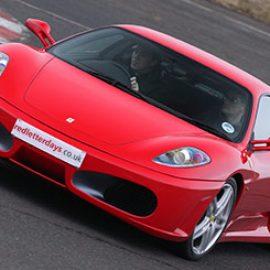 Junior Aston Martin versus Ferrari Driving