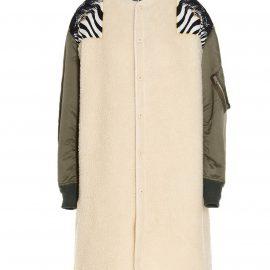 Junya Watanabe Junya Watanabe X Versace Iconic Print Project Jacket