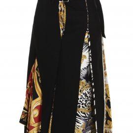 Junya Watanabe Junya Watanabe X Versace Iconic Print Project Skirt