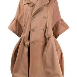 Junya Watanabe double breasted trench coat - Brown