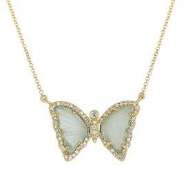 KAMARIA - Green Tourmaline Butterfly