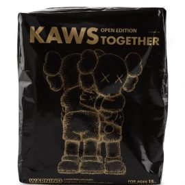 "KAWS ""Together"" Companion figure - Black"
