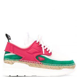 Kenzo K-Lastic platform sneakers - Pink