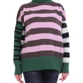 LAURENCE BRAS Knitwear High Neck Women Multicolor