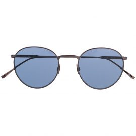 Lacoste round-frame sunglasses - Black