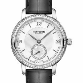 Ladies Montblanc Star Legacy Small Second Automatic Diamond Watch 118534