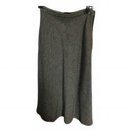 Laurence Bras N Black Wool Skirt for Women