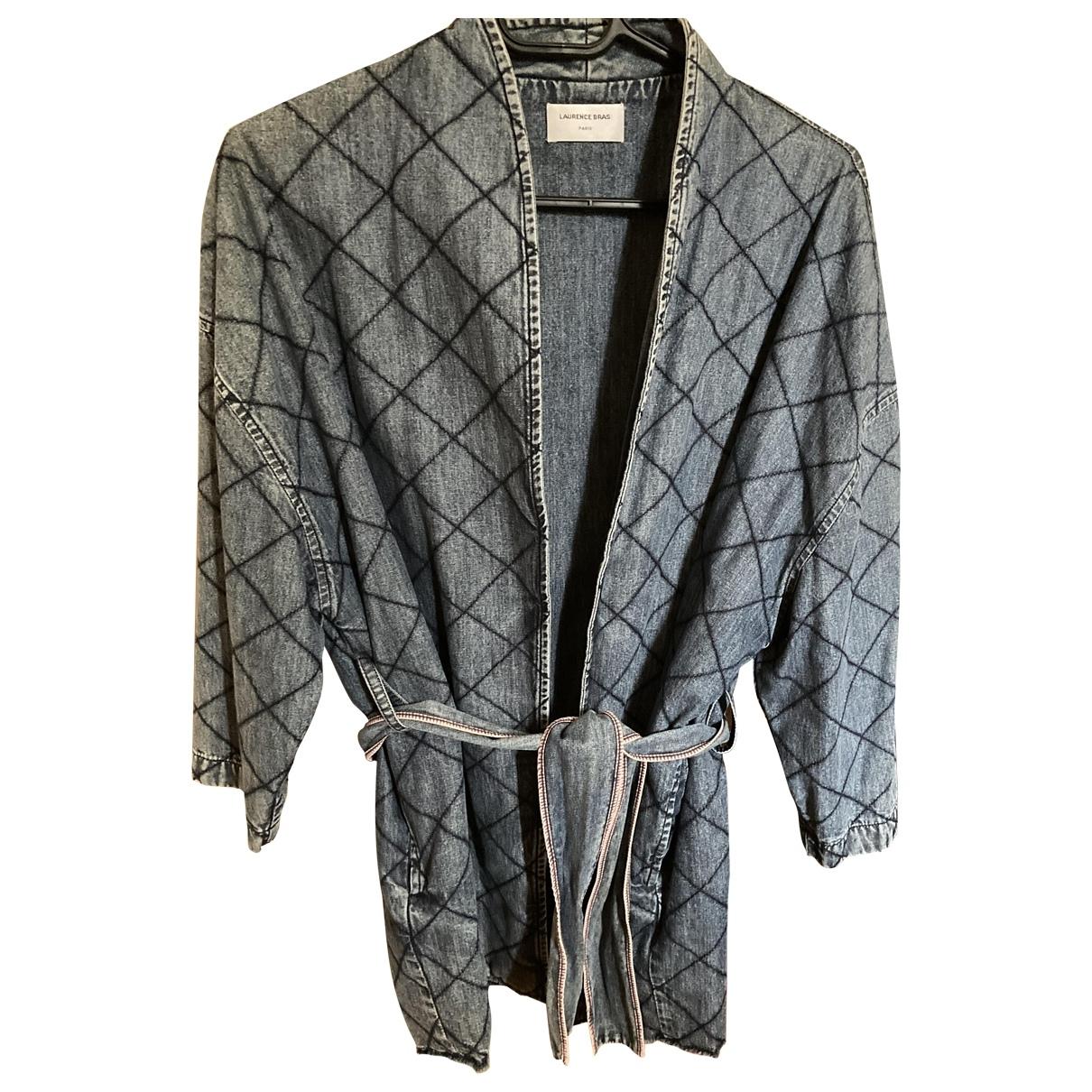 Laurence Bras N Blue Denim - Jeans Jacket for Women