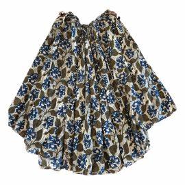 Laurence Bras N Multicolour Cotton Skirt for Women