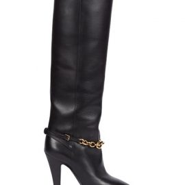 Le Maillon Knee-High Leather Boots