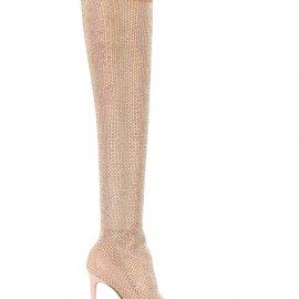Le Silla Calzatura over the knee sock boots - Neutrals