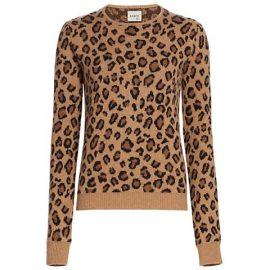 Lenora Jacquard Cashmere Knit Sweater