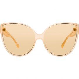 Linda Farrow 656 C4 cat-eye sunglasses - Pink