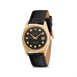 Lizzie Mandler Fine Jewelry customised Rolex Oyster Perpetual Datejust 36mm - Gold