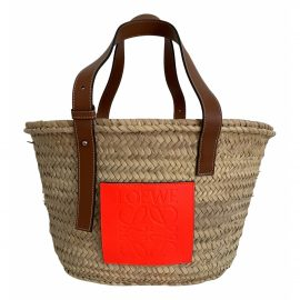 Loewe Woven basket bag handbag