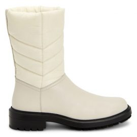 Lori Quilted Leather & Nylon Boots