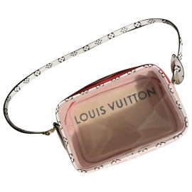 Louis Vuitton Beach cloth clutch bag