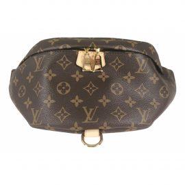 Louis Vuitton Bum Bag / Sac Ceinture Brown Cloth Clutch Bag for Women