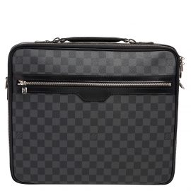 Louis Vuitton Damier Graphite Canvas Sabana Laptop Bag