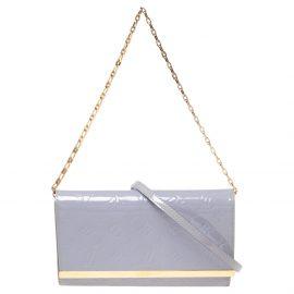 Louis Vuitton Lilas Monogram Vernis Ana Clutch Bag