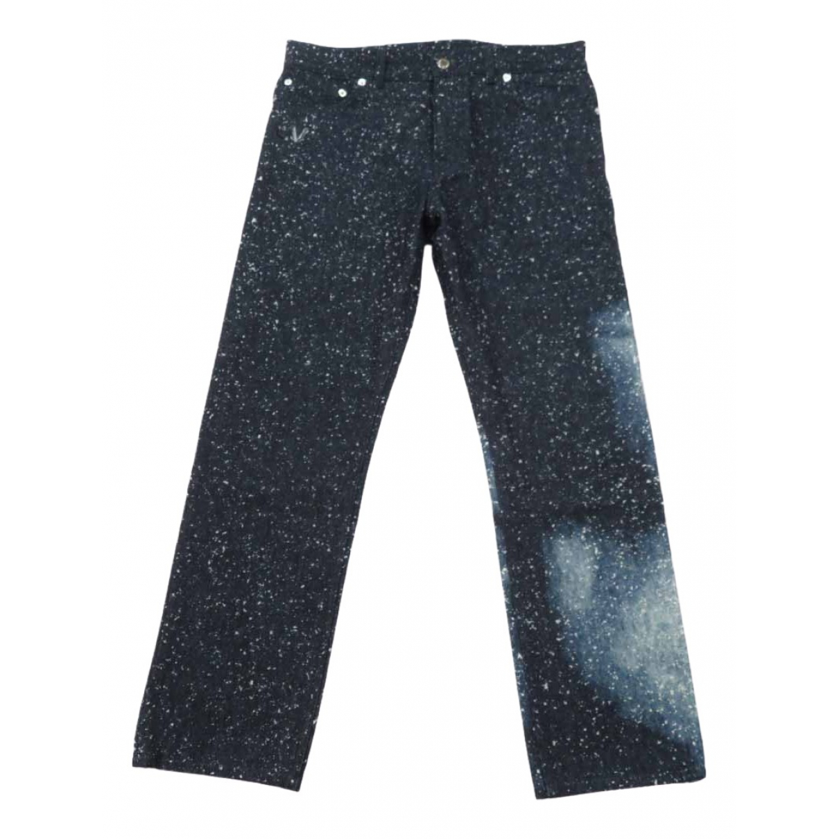 Louis Vuitton N Navy Cotton Jeans for Men