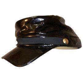 Louis Vuitton Patent leather cap