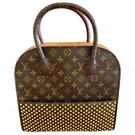 Louis Vuitton Shopping Bag Louboutin cloth handbag