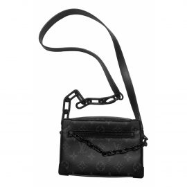 Louis Vuitton Soft trunk mini Black Cloth Bag for Men