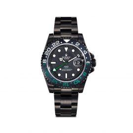 MAD Paris customised Rolex GMT Master II 40mm - Black