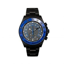 MAD Paris customised Rolex Yacht-Master II watch - Black