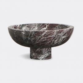 MMairo Tableware - 'Inside Out' fruit bowl, red in Red Rosso Levanto