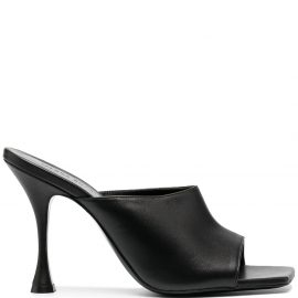 Magda Butrym leather mules - Black
