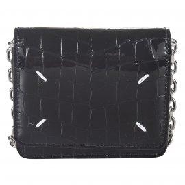 Maison Margiela Croc-skin Effect Chain Mini Bag