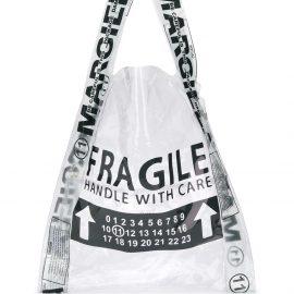 Maison Margiela Fragile shopper tote - Black