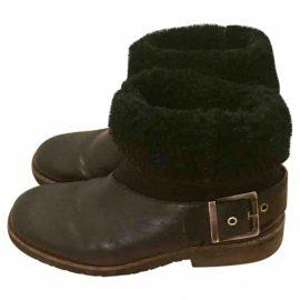 Maison Martin Margiela Leather snow boots