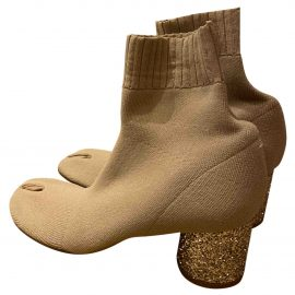 Maison Martin Margiela N Beige Ankle boots for Women