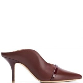 Malone Souliers Constance heeled mules - Brown